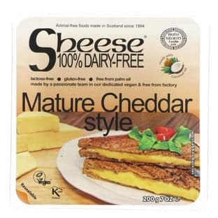 Bute Island Foods Mature Cheddar Style - 200g